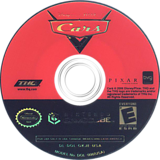 Cars GameCube disc (GKJE78)