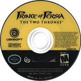 Prince of Persia: The Two Thrones GameCube disc (GKME41)