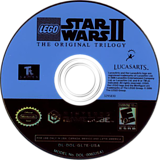 LEGO Star Wars II: The Original Trilogy GameCube disc (GL7E64)