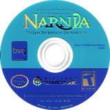 The Chronicles of Narnia: The Lion Witch and the Wardrobe GameCube disc (GLVE4Q)