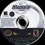 Madden NFL 2002 GameCube disc (GMDE69)