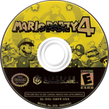 Mario Party 4 GameCube disc (GMPE01)