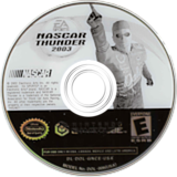 Nascar Thunder 2003 GameCube disc (GNCE69)