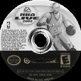 NBA Live 2003 GameCube disc (GNLE69)