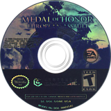 Medal of Honor: European Assault GameCube disc (GONE69)