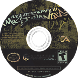Need for Speed: Most Wanted GameCube disc (GOWE69)