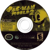 Pac-Man World 2 GameCube disc (GP2EAF)
