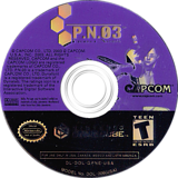 P.N.03 GameCube disc (GPNE08)