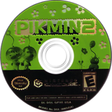 Pikmin 2 GameCube disc (GPVE01)