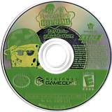 SpongeBob SquarePants: Battle for Bikini Bottom GameCube disc (GQPE78)