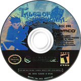 Tales of Symphonia GameCube disc (GQSEAF)