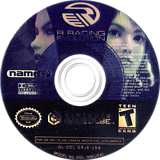 R: Racing Evolution GameCube disc (GRJEAF)