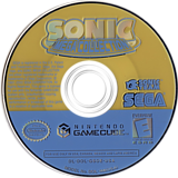 Sonic Mega Collection GameCube disc (GSOE8P)