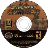 Star Wars: The Clone Wars GameCube disc (GSXE64)