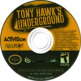 Tony Hawk's Underground GameCube disc (GTDE52)