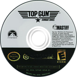 Top Gun: Combat Zones GameCube disc (GTGE60)