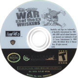 Tom & Jerry in War of the Whiskers GameCube disc (GTJE5L)
