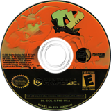 Ty the Tasmanian Tiger GameCube disc (GTYE69)