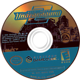 Need for Speed: Underground 2 GameCube disc (GUGE69)