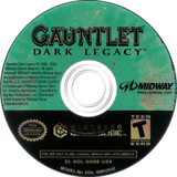 Gauntlet: Dark Legacy GameCube disc (GUNE5D)
