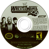 WWE WrestleMania X8 GameCube disc (GW3E78)