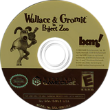 Wallace & Gromit in Project Zoo GameCube disc (GWLE6L)