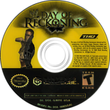 WWE Day of Reckoning GameCube disc (GWPE78)