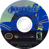 Wave Race: Blue Storm GameCube disc (GWRE01)