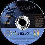 X2: Wolverine's Revenge GameCube disc (GWVE52)