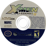 X-Men Legends II: Rise of Apocalypse GameCube disc (GX2E52)