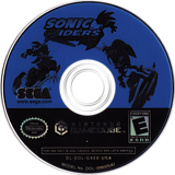 Sonic Riders GameCube disc (GXEE8P)