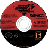 Mega Man X: Command Mission GameCube disc (GXRE08)