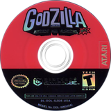 Godzilla: Destroy all Monsters Melee GameCube disc (GZDE70)