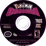 Pokémon Colosseum Bonus Disc GameCube disc (PC6E01)