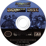 Mario Kart: Double Dash!! Bonus Disc GameCube disc (PM4E01)