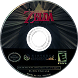 The Legend of Zelda: Collector's Edition GameCube disc (PZLE01)