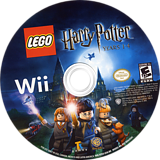 LEGO Harry Potter: Years 1-4 Wii disc (R25EWR)