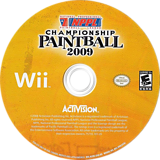 NPPL Championship Paintball 2009 Wii disc (R29E52)