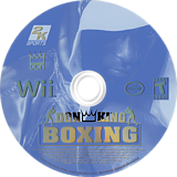 Don King Boxing Wii disc (R2KE54)