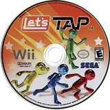 Let's Tap Wii disc (R2UE8P)