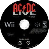 AC/DC Live: Rock Band Track Pack Wii disc (R33E69)