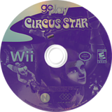 Go Play Circus Star Wii disc (R3JE5G)