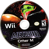 Metroid: Other M Wii disc (R3OE01)