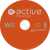EA Sports Active: Personal Trainer Wii disc (R43E69)