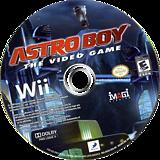 Astro Boy: The Video Game Wii disc (R56EG9)