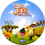 Smart Series Presents: JaJa's Adventure Wii disc (R67E6K)