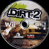 DiRT 2 Wii disc (R69E36)