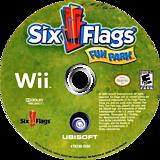 Six Flags Fun Park Wii disc (R6FE41)