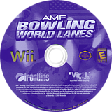 AMF Bowling World Lanes Wii disc (R6WE68)