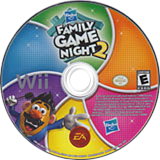 Hasbro: Family Game Night 2 Wii disc (R6XE69)